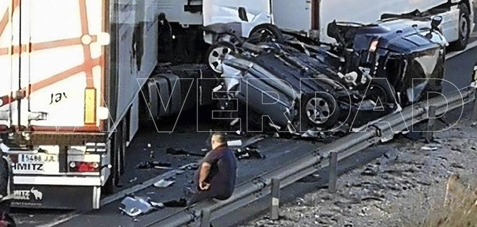 Detienen al chófer del camión que provocó el accidente con víctimas en la A-7