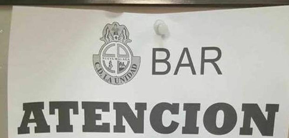 El aplaudido cartel de un bar que deja de vender 'catalanas'