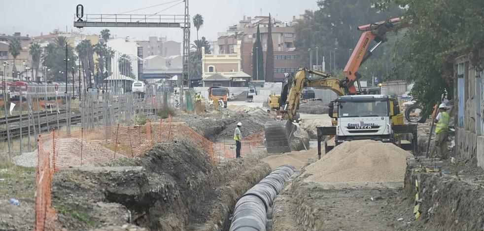 Las máquinas del soterramiento empezarán a trabajar en noviembre