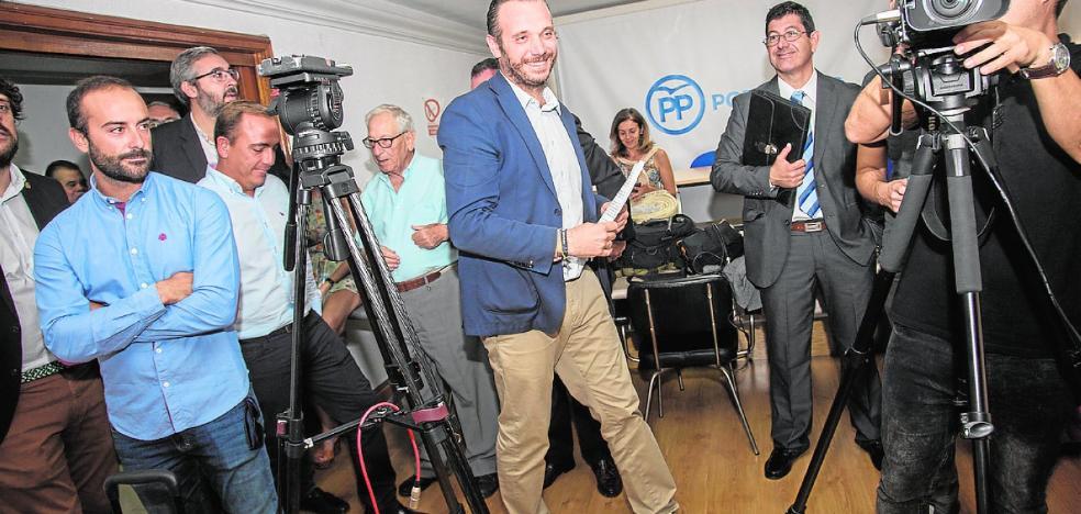 Segado inicia la carrera para ser candidato del PP a la alcaldía, tras su absolución