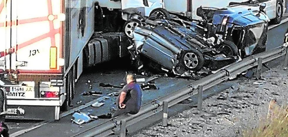 La juez deja libre al chófer del accidente en la A-7 que dio positivo en cocaína