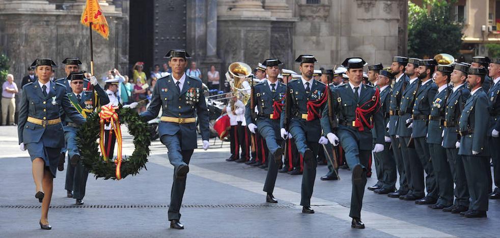 La Guardia Civil celebra a su Patrona con la mirada puesta en Cataluña