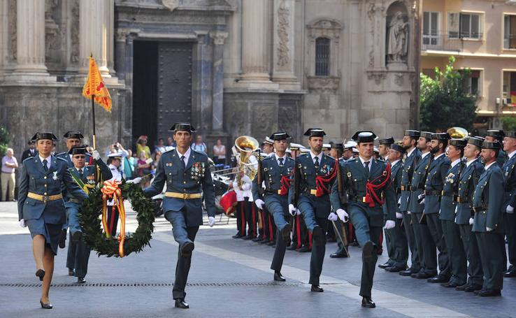 La Guardia Civil homenajea a su patrona