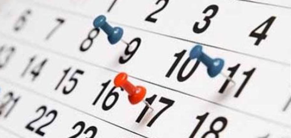 Calendario laboral 2018: días festivos y puentes