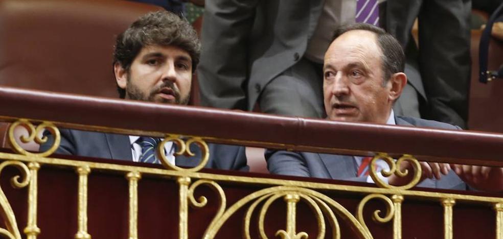 López Miras advierte que aunque la Generalitat rectificase «no le exime» de rendir cuentas ante la Justicia