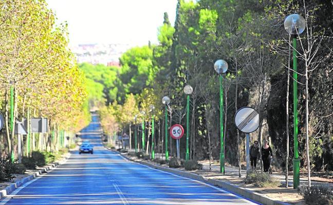 La reforestación urbana llegará a cuatro barrios y al entorno de dos castillos