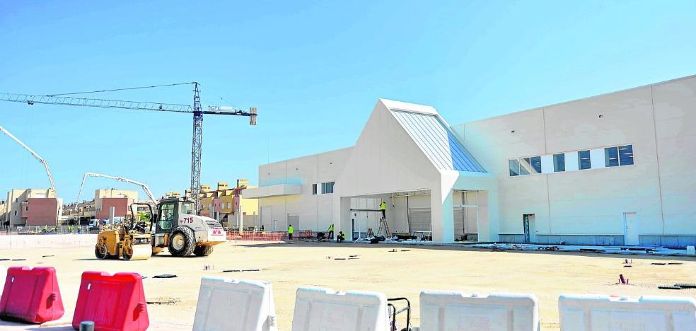 El parque comercial de Montevida abre en un mes