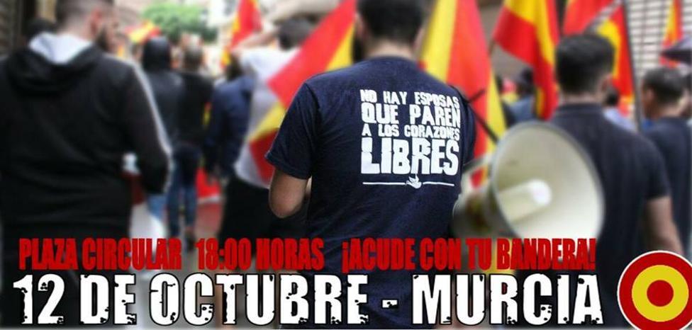 Piden a las autoridades que impidan una manifestación de Lo Nuestro en Murcia