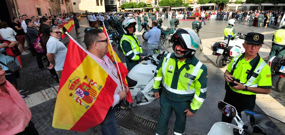 La Guardia Civil aplaude la «defensa leal» de los agentes desplazados por el 'procés'