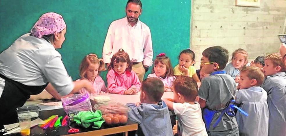 Clases de repostería para 3.350 escolares
