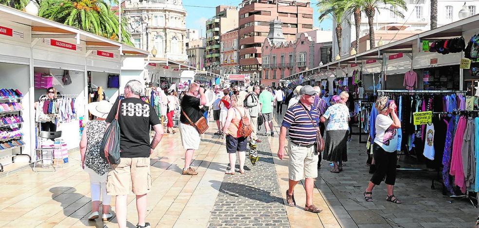 El mejor turismo de compras se vive este fin de semana en Cartagena