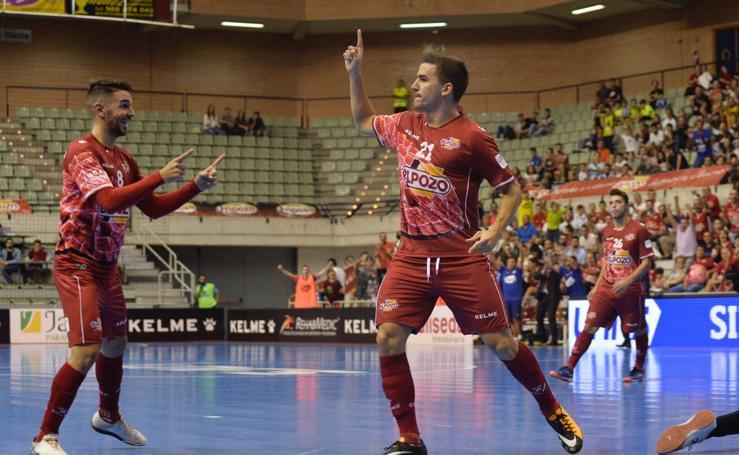 ElPozo gana al Jaén en un partido no apto para cardiacos (3-2)