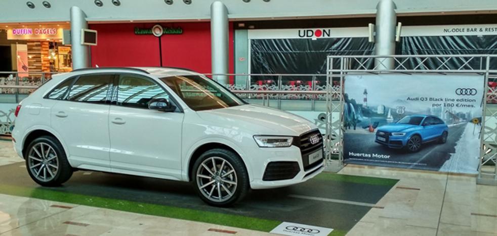 El Audi Q3 atrae todas las miradas en Nueva Condomina