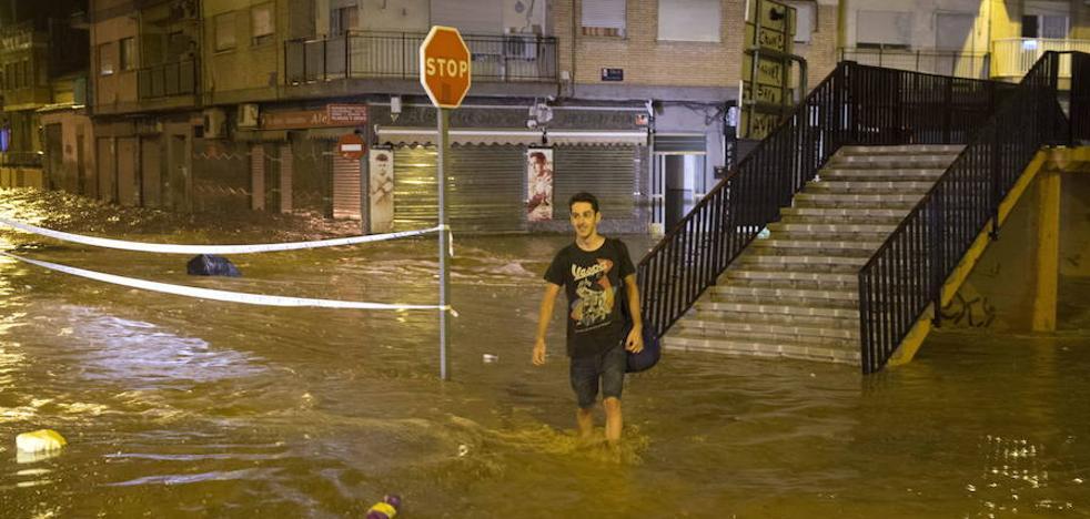Obras de paso y diques en las ramblas evitarán las inundaciones en varias pedanías de Murcia