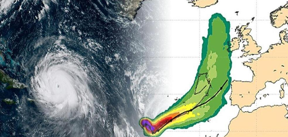El huracán 'Ophelia' tocará España
