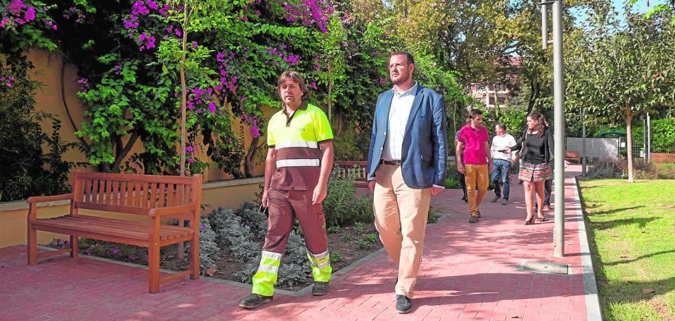 Un nuevo sendero en el jardín del Salitre