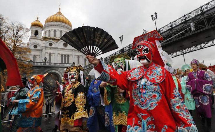 El carnaval de Moscú