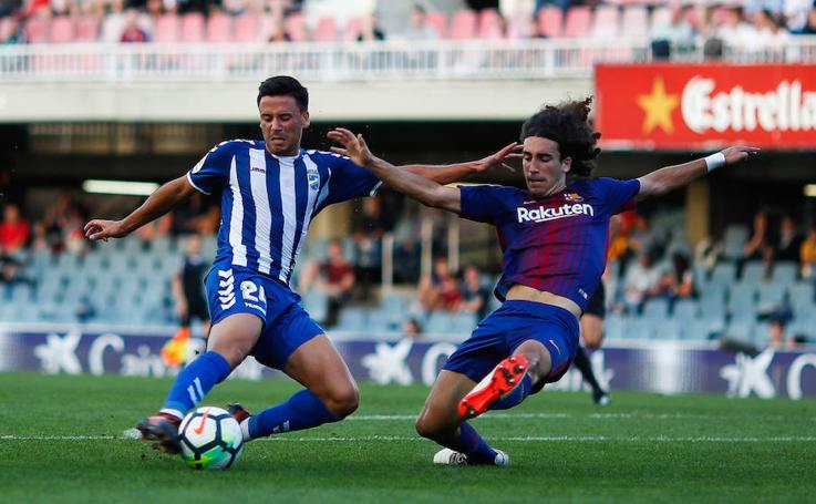 La falta de pegada sigue condenando a los lorquinos ante el Barcelona B (1-0)