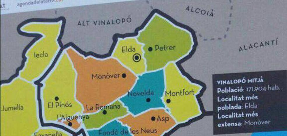 Unas agendas escolares incluyen a Yecla y Jumilla en los 'Països Catalans'