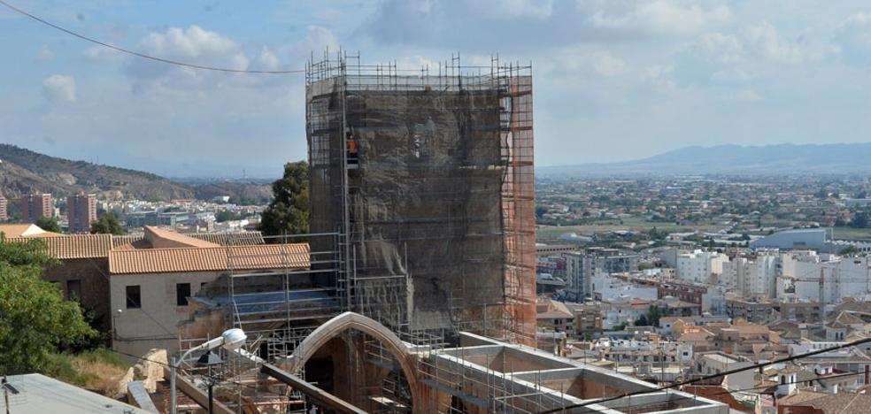 La reconstrucción de Santa María aún tardará seis meses en estar terminada