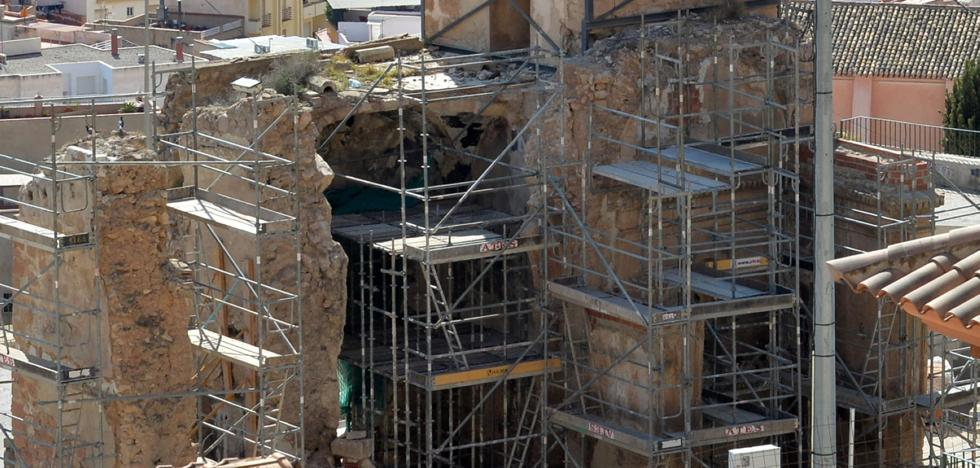 La recuperación del patrimonio cultural dañado por los seísmos afronta la fase final