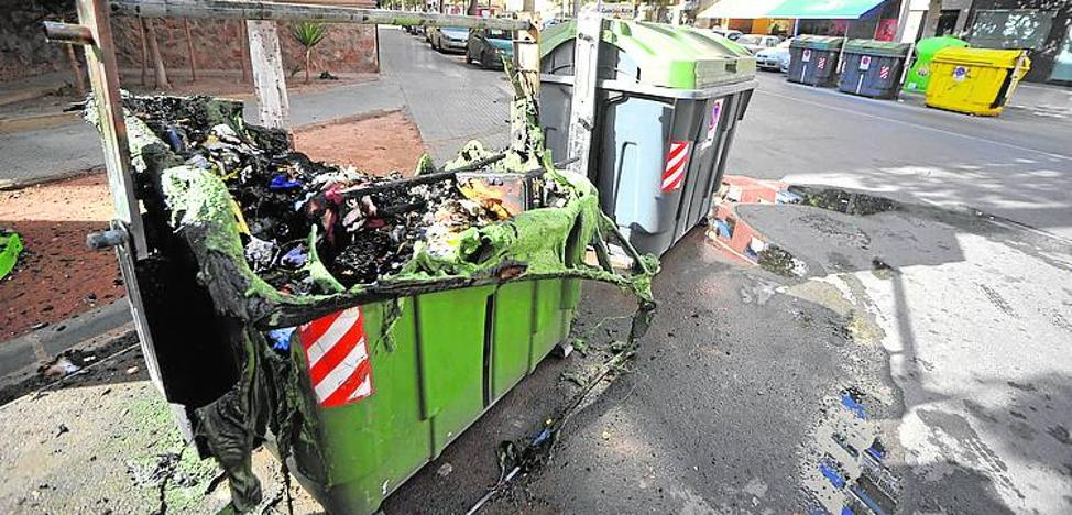 La factura de los platos rotos por el vandalismo