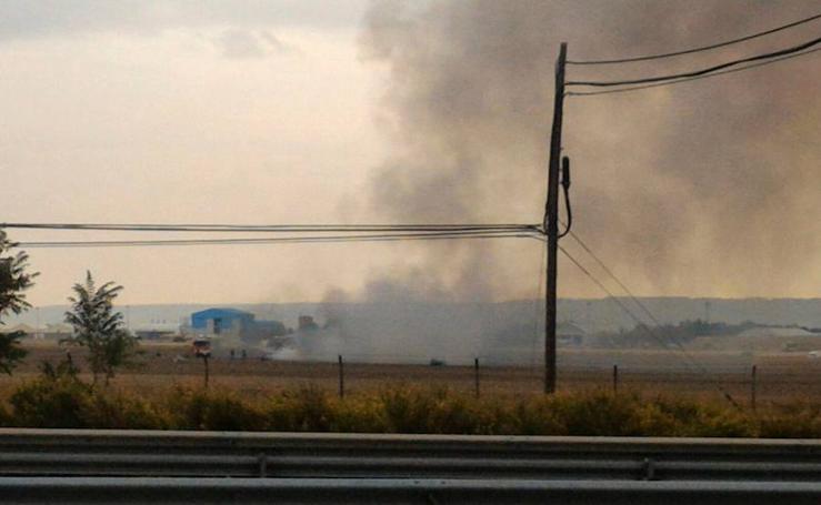 Todas las fotos del accidente en la base de Torrejón