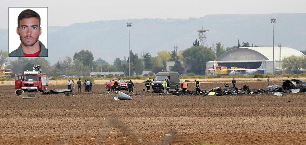 Muere un piloto murciano de 26 años al estrellarse con un F-18 en la base de Torrejón de Ardoz
