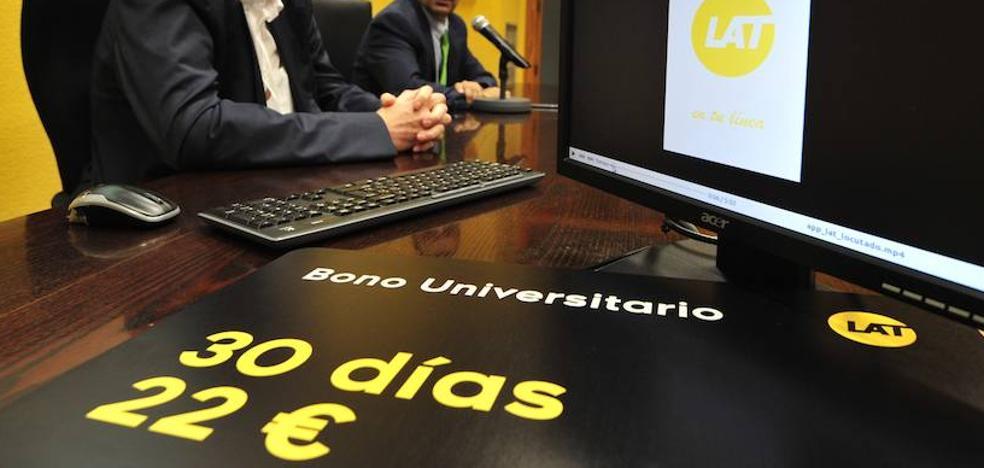 Estudiantes y profesores de la UMU tendrán viajes ilimitados en bus por 22 euros al mes