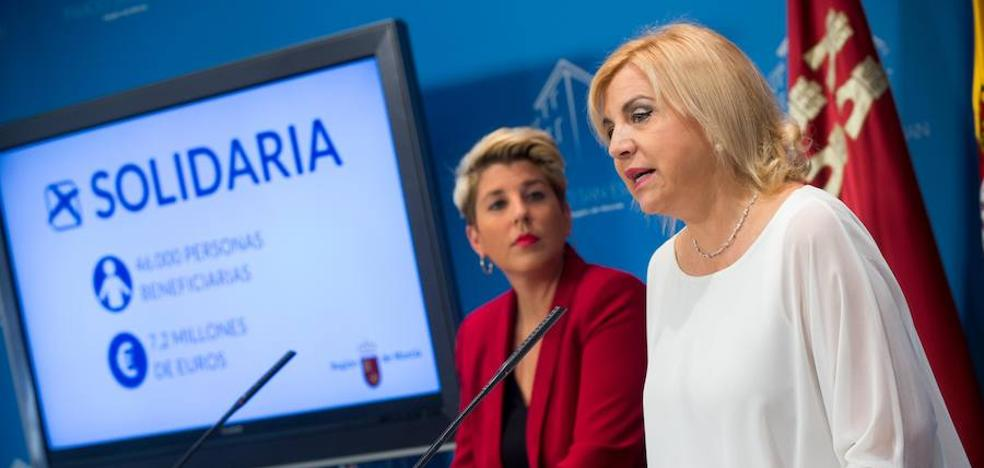 Las ONG recibirán en diciembre los 7,23 millones de la 'X solidaria' del Gobierno regional