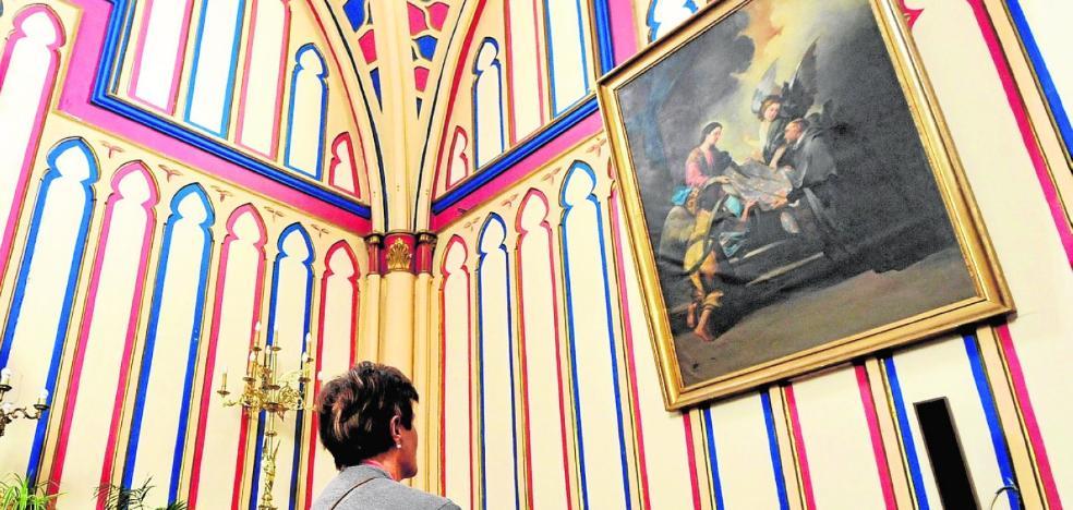 El juez entrega a la parroquia del Rosario obras de arte decomisadas a Benito Amor
