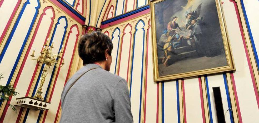 El juez entrega a la parroquia del Rosario de Bullas obras de arte decomisadas a Benito Amor