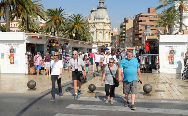 Los 'cruceristas' se quedan en Cartagena