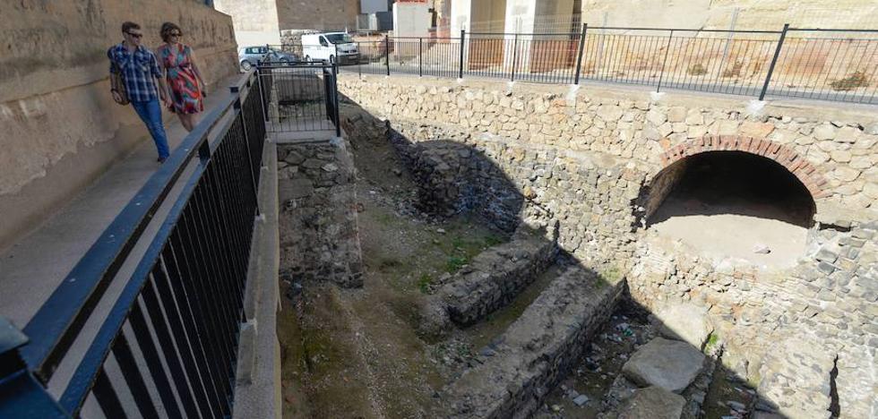 La Comunidad aporta 100.000 euros a la obra del Anfiteatro Romano
