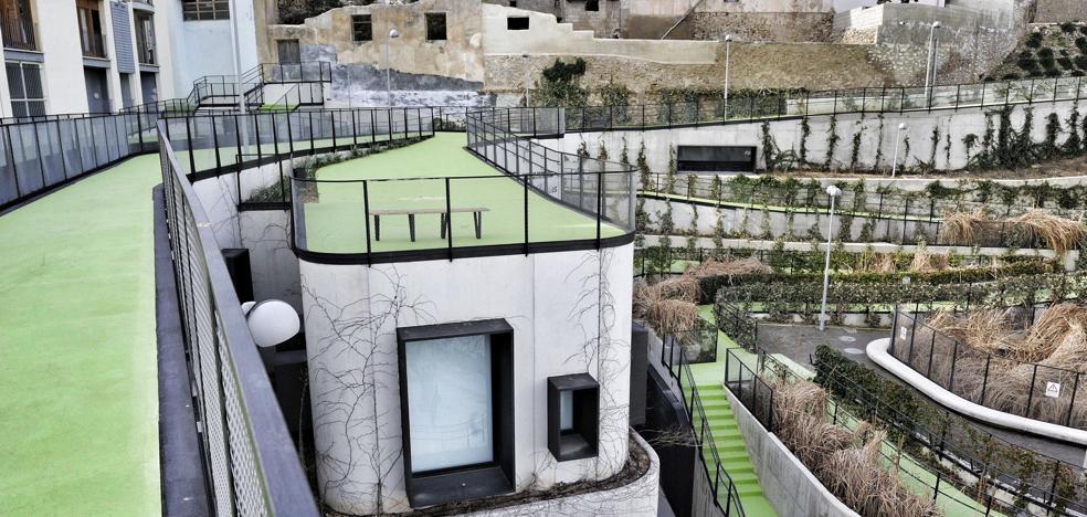 El jardín levantado en El Coso de Cehegín se alza con el Premio de Arquitectura