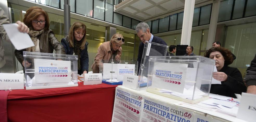 Los presupuestos participativos registran 101 propuestas en sus dos primeros días