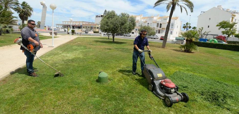 Los técnicos inician el estudio para crear una empresa pública que cuide los jardines municipales