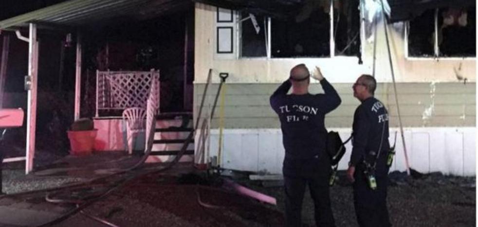 Incendia su casa al intentar acabar con una plaga de arañas con un soplete