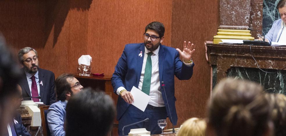 López Miras califica sus seis meses de presidente como «claramente positivos»