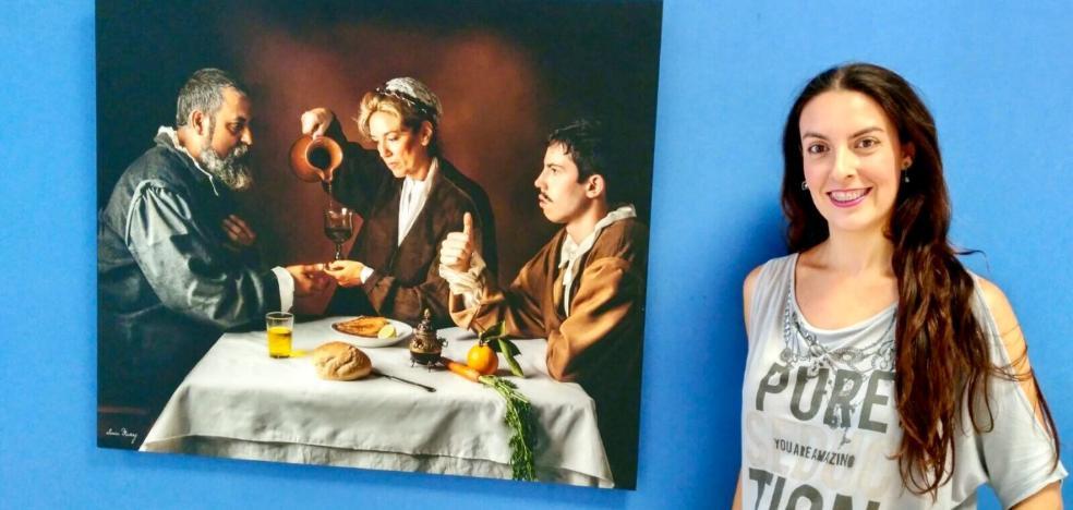 Sofía Muñoz expone su trabajo en Ricote