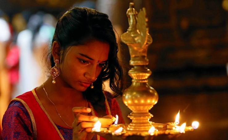 Los hindúes celebran el Año Nuevo