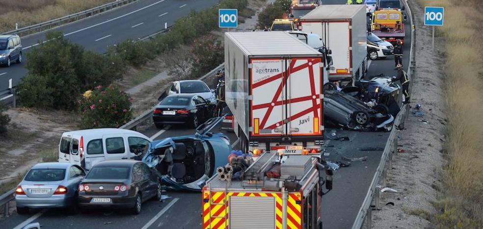 Un total de 33 personas han perdido la vida en la carretera en lo que va de año en la Región