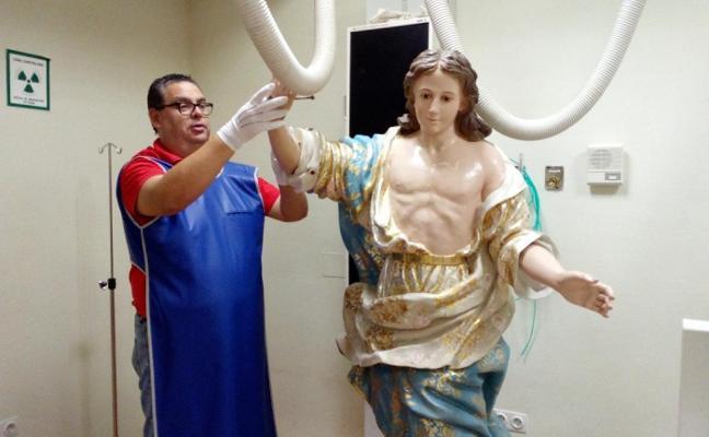 El Ángel de 'Los Dormis', a radiología