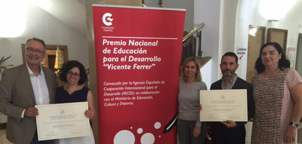 Dos institutos de la Región, premiados en Educación para el Desarrollo