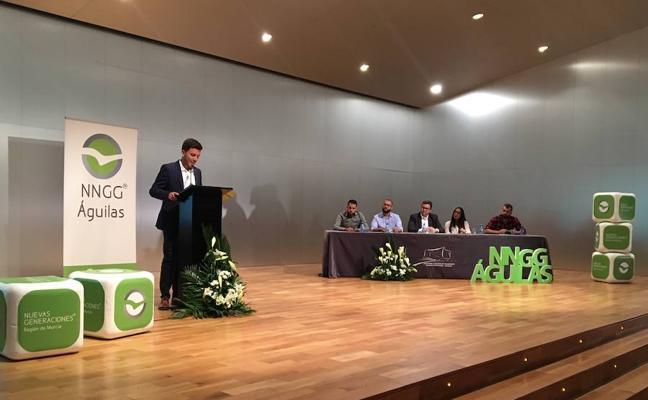 Francisco Hernández, nuevo presidente de NNGG en Águilas
