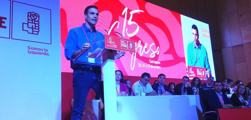 Pedro Sánchez: «El PSOE nunca ha fallado a España»