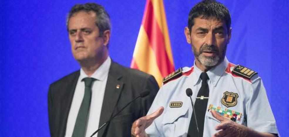 Los Mossos d'Esquadra, a las órdenes de Interior
