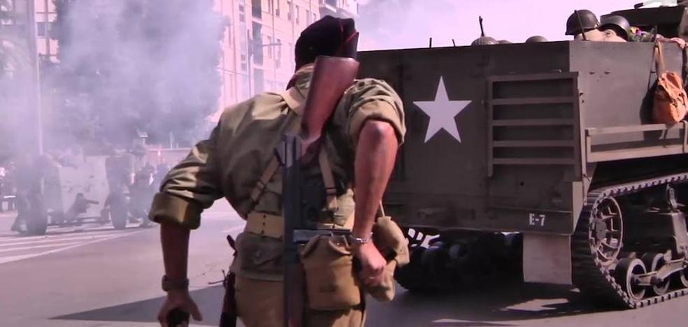 Murcia firma el armisticio con la liberación de París