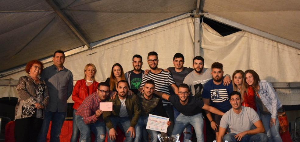 La peña El Lío gana el certamen Campos Joven
