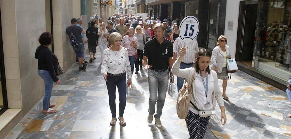 Más de 7.000 turistas llenan el centro de Cartagena en el mayor desembarco del año
